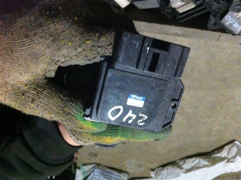 Резистор реостат отопителя печки Toyota Caldina 240
