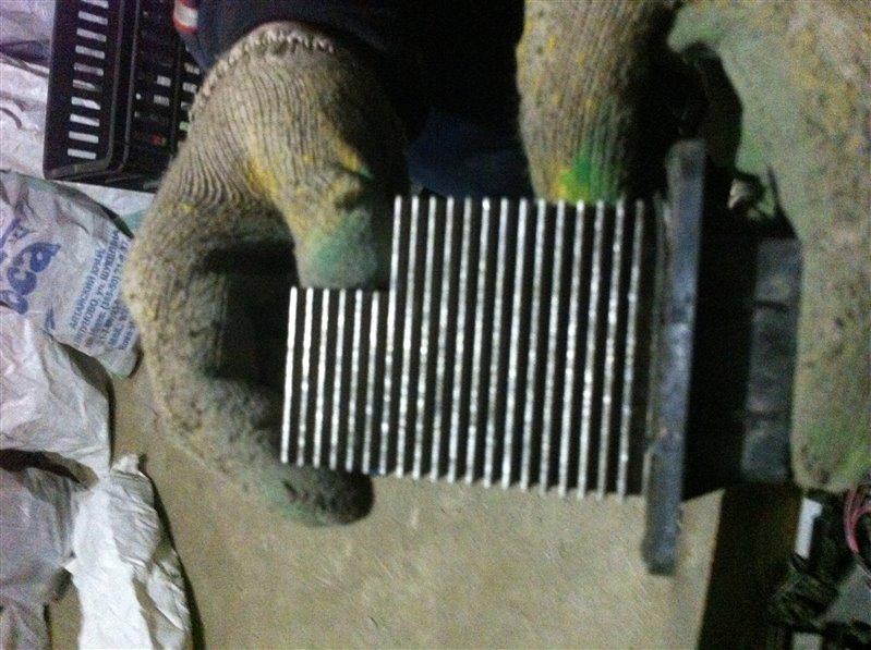 Резистор реостат отопителя печки Toyota Noah CR50