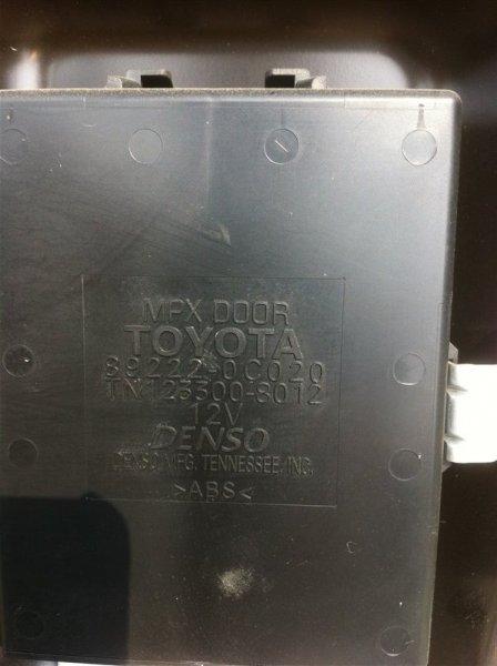 Блок управления дверьми Toyota Sequoia UCK45 2UZ FE 2005