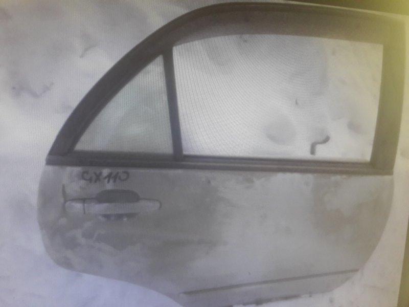 Дверь Toyota Verossa GX110, GX115, JZX110 задняя правая