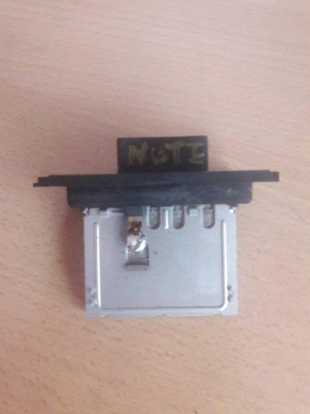 Резистор реостат отопителя печки-сопрортивление мотора печки Nissan Note E11 HR15 2005