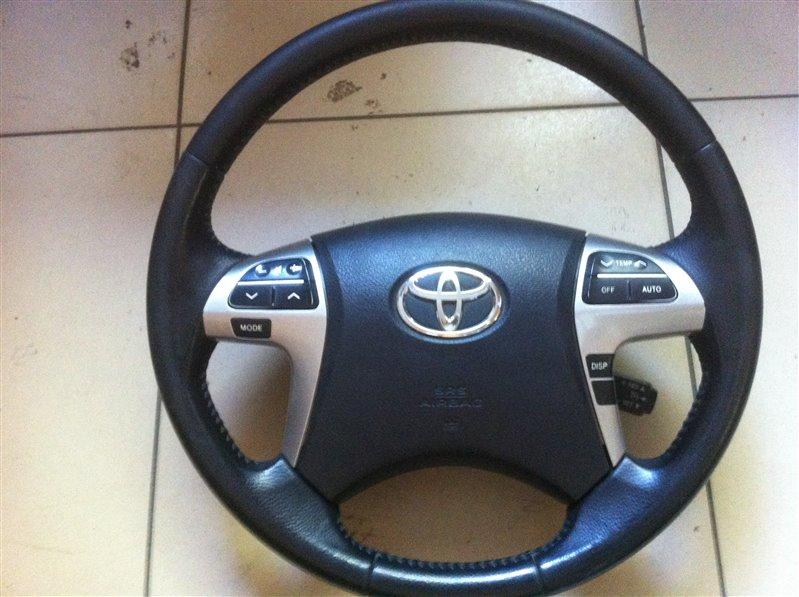 Airbag подушка безопасности на руль Toyota Highlander GSU45. GSU40 2GR 2012