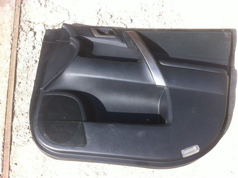 Обшивка двери Toyota Highlander GSU45. GSU40 2GR 2012 передняя правая