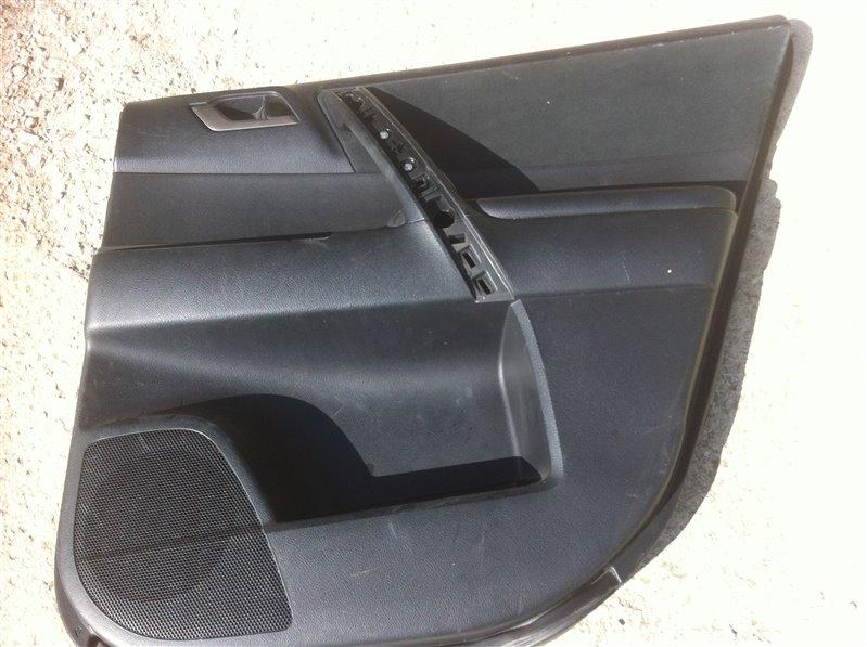 Обшивка двери Toyota Highlander GSU45. GSU40 2GR 2012 задняя правая