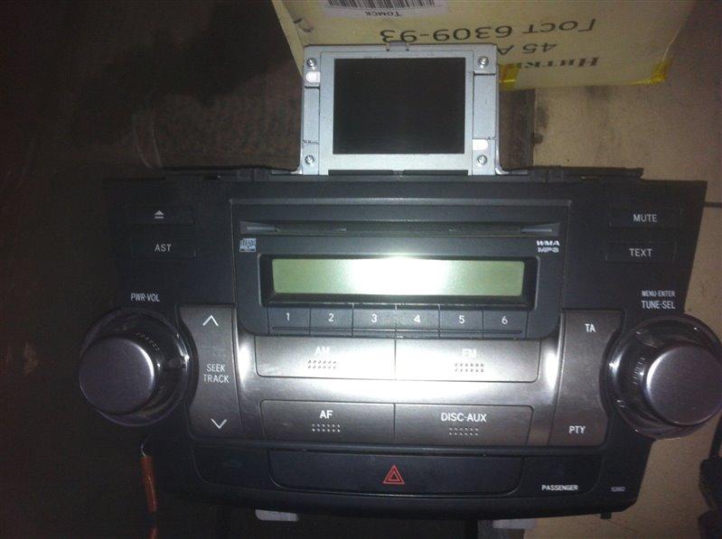Монитор, дисплей Toyota Highlander GSU45. GSU40 2GR 2012
