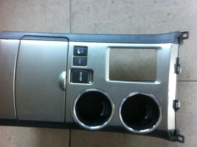 Накладка кпп Toyota Highlander GSU45. GSU40 2GR 2012