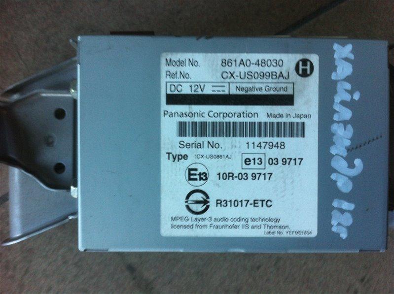Блок управления мультимедиа Toyota Highlander GSU45. GSU40 2GR 2012