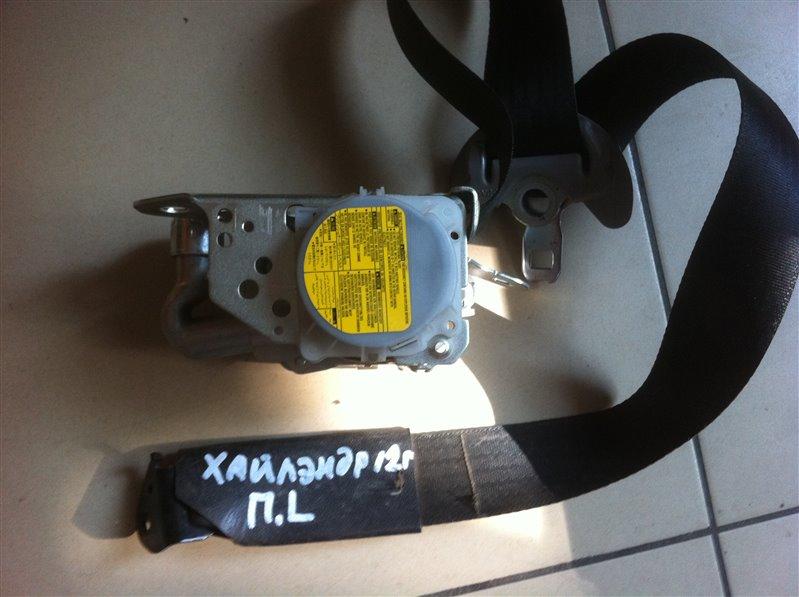 Ремень безопасности Toyota Highlander GSU45. GSU40 2GR 2012