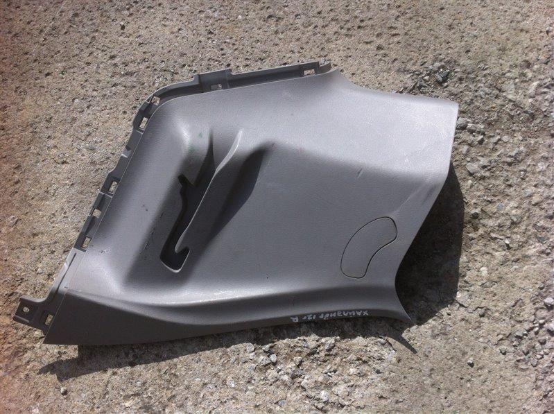 Обшивка пластик накладка багажника Toyota Highlander GSU45. GSU40 2GR 2012
