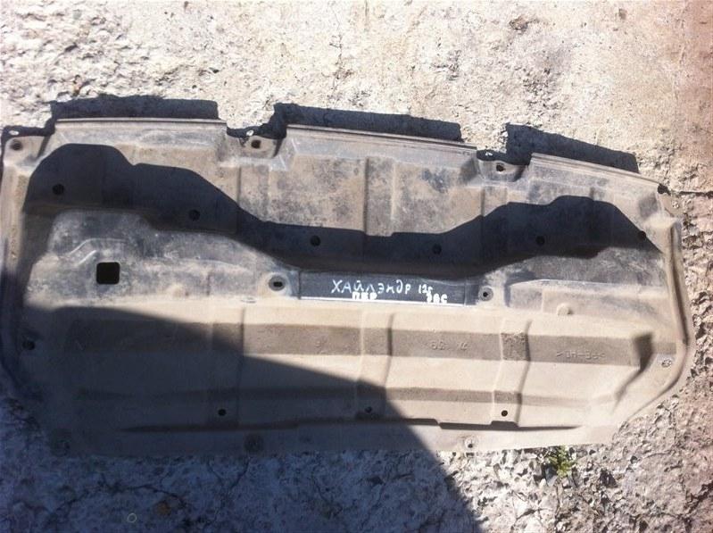 Защита двигателя двс Toyota Highlander GSU45. GSU40 2GR 2012 передняя