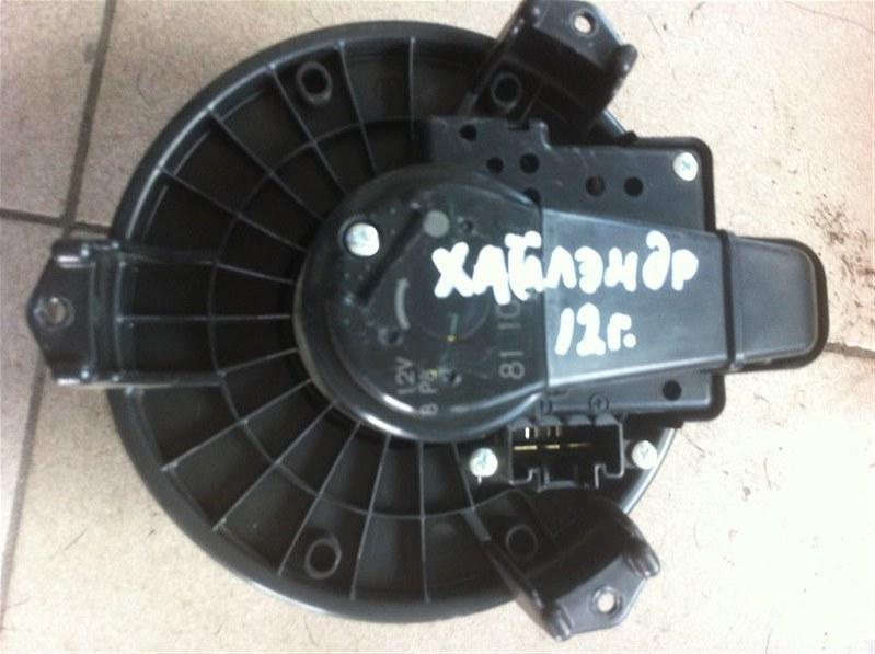 Мотор печки Toyota Highlander GSU45. GSU40 2GR 2012