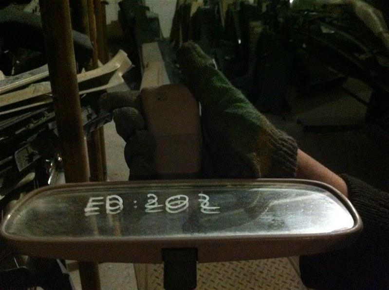 Зеркало салона Toyota Carina Ed 202