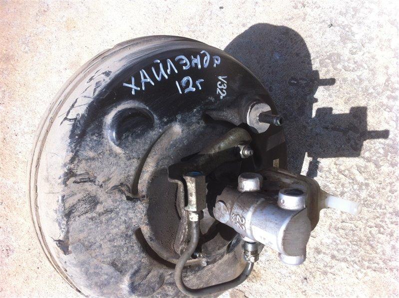 Вакуумный усилитель тормозов Toyota Highlander GSU45. GSU40 2GR 2012