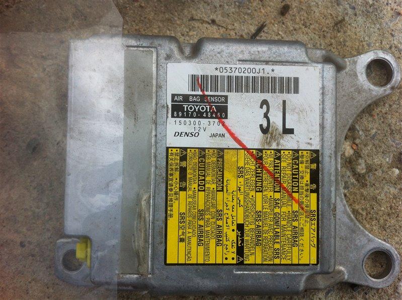 Блок управления airbag Toyota Highlander GSU45. GSU40