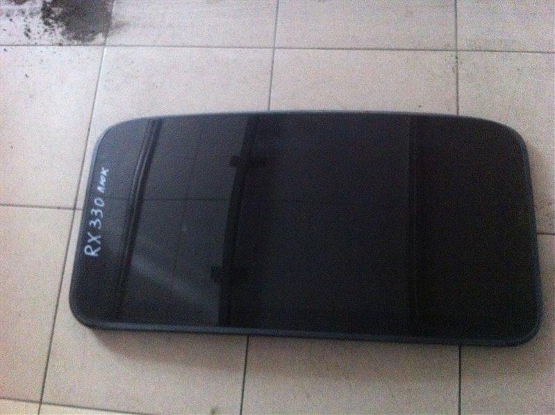 Крышка люка (стекло) Lexus Rx330 30 3MZ 2005