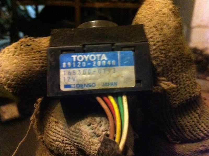 Блок управления светом Toyota Land Cruiser 80