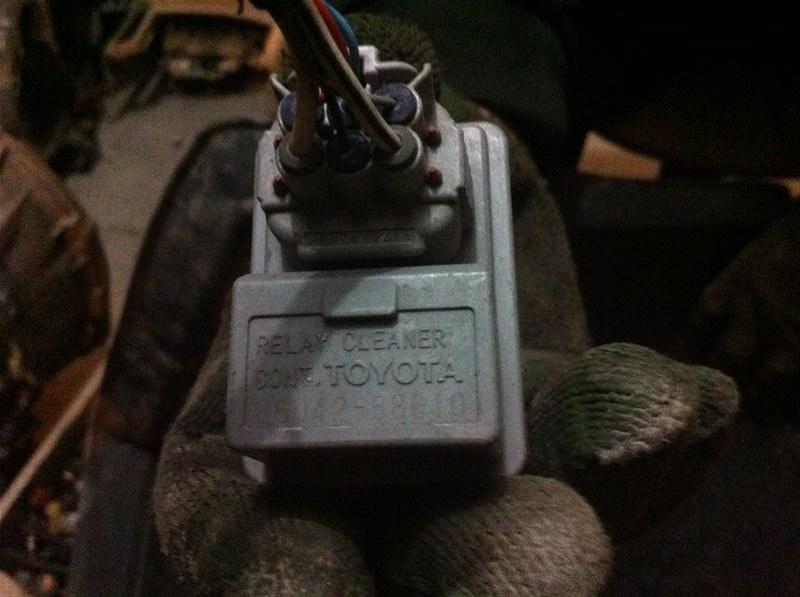 Реле омывателя Toyota Camry ASV50