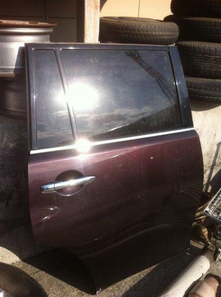 Форточка двери Nissan Patrol 62 VK56VD задняя правая