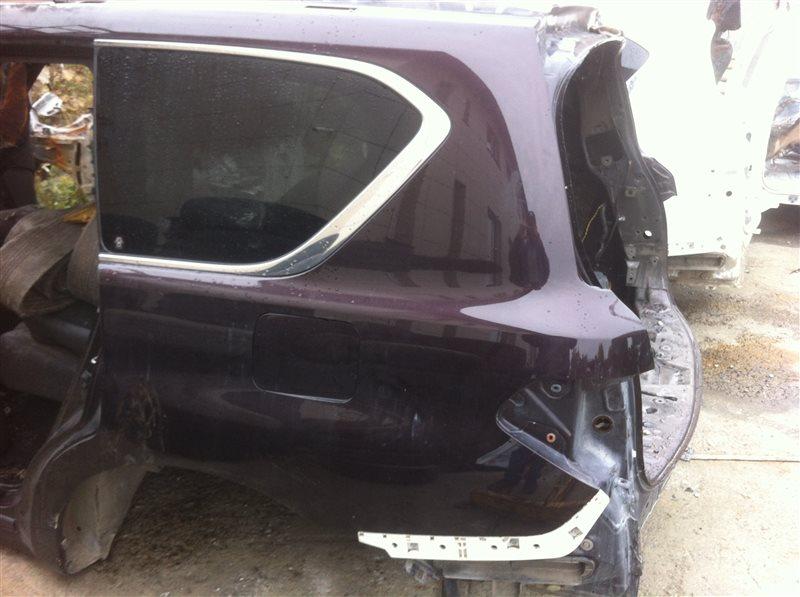 Стекло собачника Nissan Patrol 62 VK56VD 2011