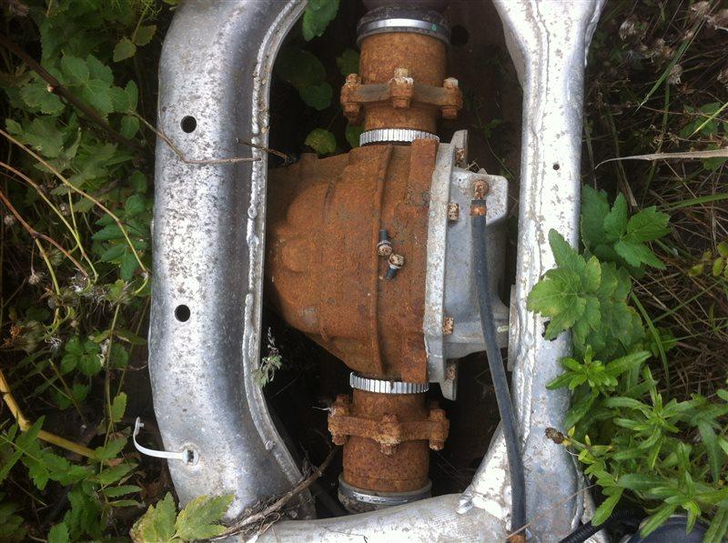 Привод Infiniti Fx35 50 задний