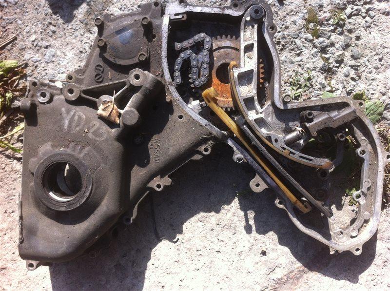 Лобовина двигателя маслонасос Nissan Pathfinder 51 YD25