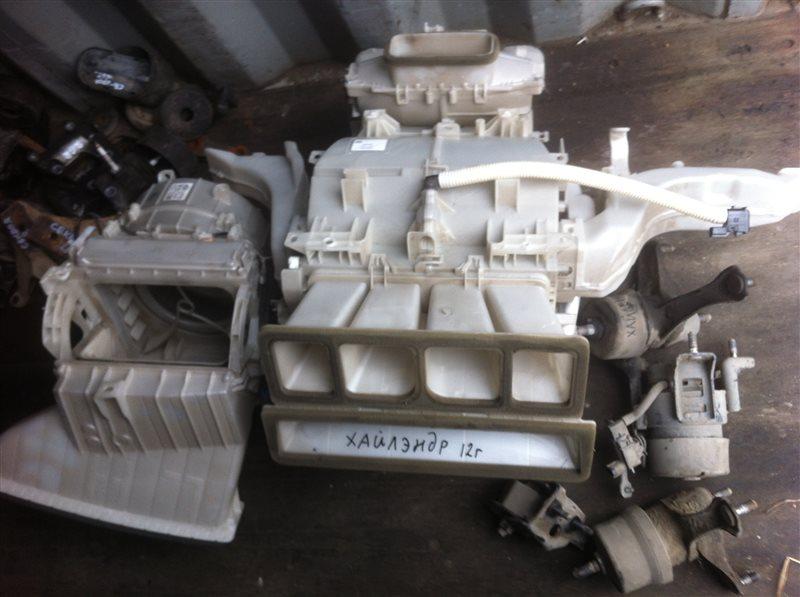 Радиатор отопителя Toyota Highlander GSU45. GSU40 2GR 2012
