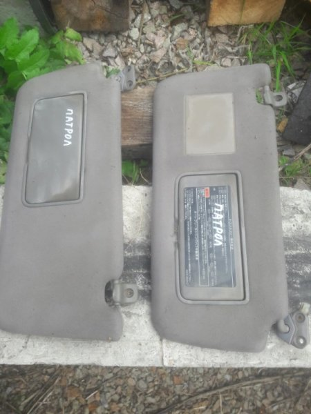 Козырек солнцезащитный Nissan Patrol WFGY61 VRGY61 WRGY61 WTY61 WYY61 WGY61 RD28T RD28TI 2000