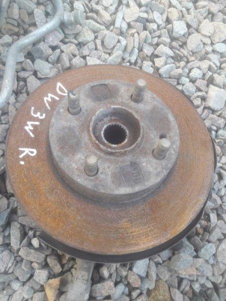 Тормозной диск Mazda Demio DW3W B3 2001 передний