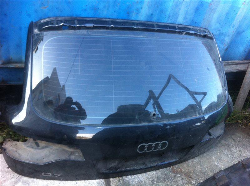 Дверь 5-я дверь багажника Audi Q7 4 M