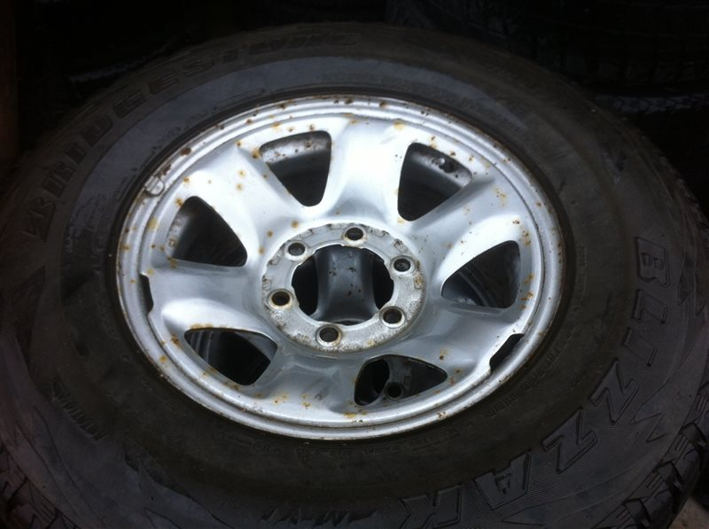 Комплект из 4-х колёс R16 / 265 / 70 Bridgestone Blizzak 6x139.7 штамп.