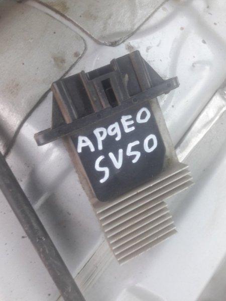 Резистор реостат отопителя печки-сопрортивление мотора печки Toyota Vista Ardeo ZZV50, SV50,