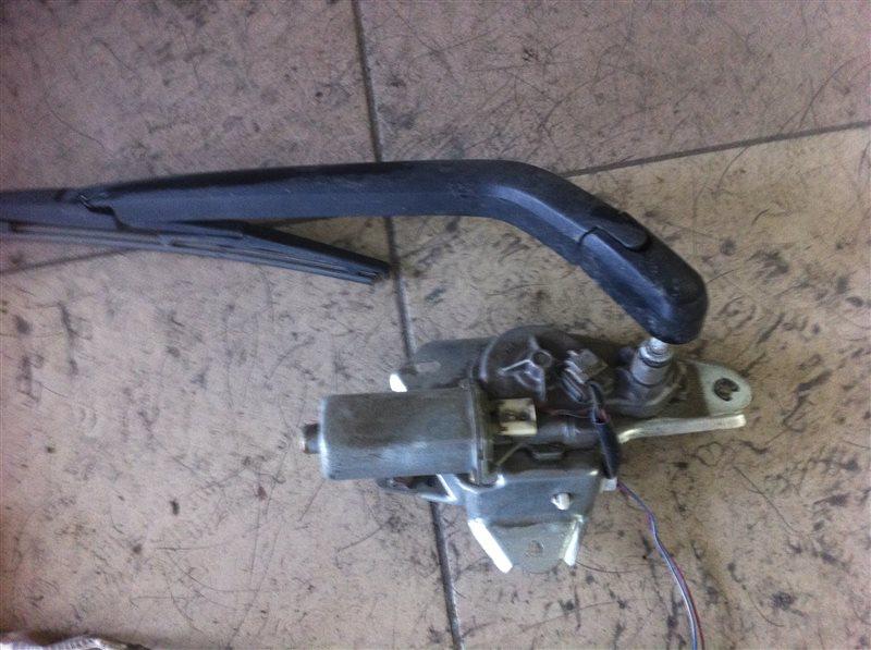 Мотор дворников двигатель стеклоочистителя Mazda Demio DE3FS 2010 задний