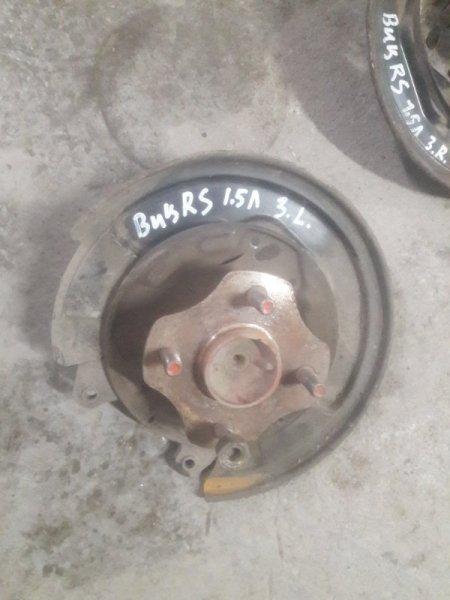 Ступица Toyota Vitz NCP10, KSP10 1NZFE, 1KRFE 2001 задняя
