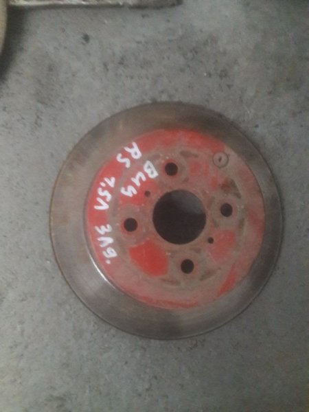Тормозной диск Toyota Vitz NCP10, KSP10 1NZFE, 1KRFE 2001 задний