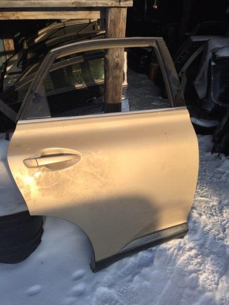 Дверь Lexus Rx350 AGL10 задняя правая