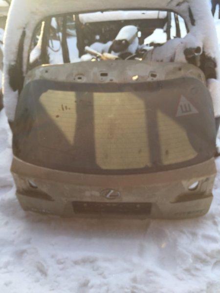 Дверь 5-я дверь багажника Lexus Rx350 AGL10