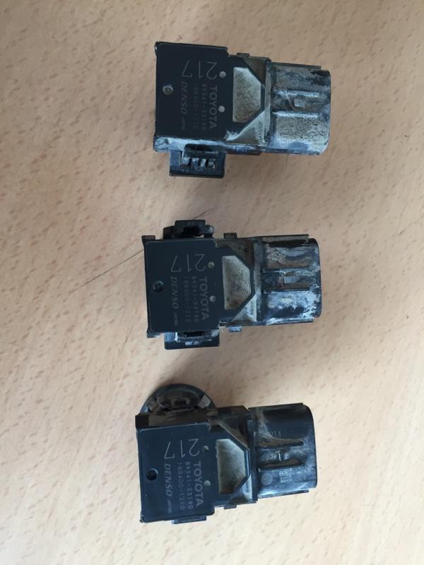 Парктроник Lexus Lx570 200 3UR 2012 задний