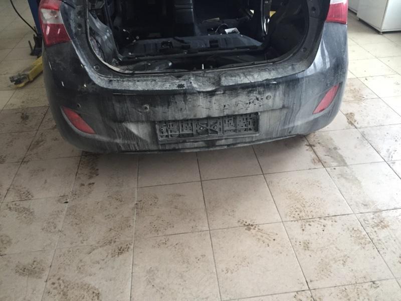 Бампер Hyundai I30 GD G4F 2014 задний