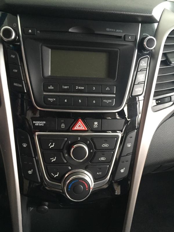 Блок управления климат-контролем Hyundai I30 GD G4F 2014