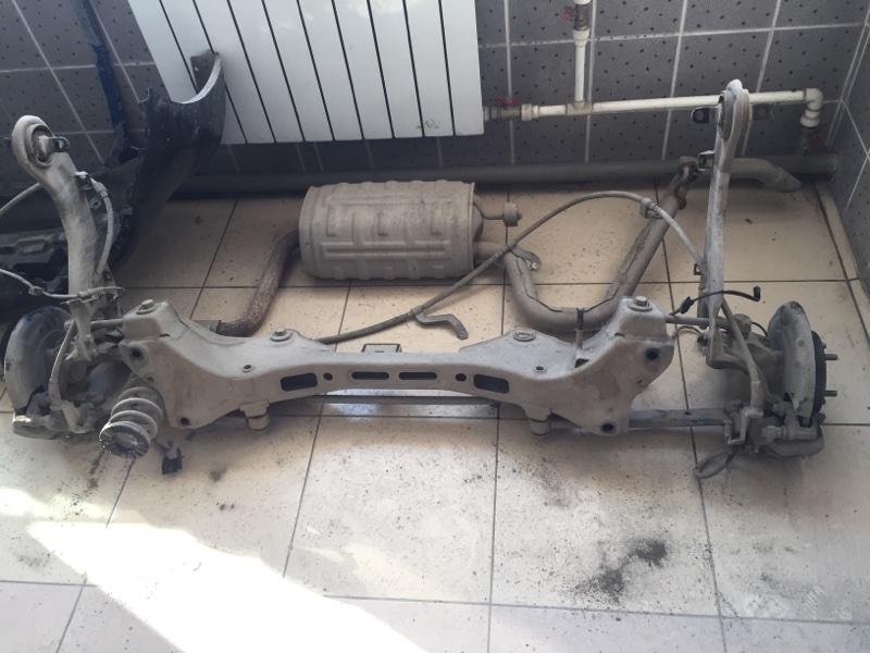 Суппорт Hyundai I30 GD G4F 2014 задний