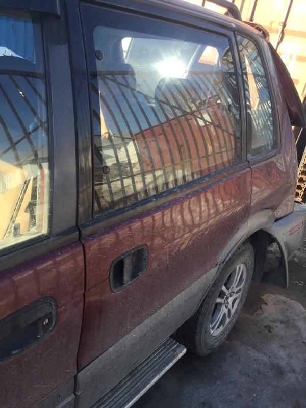 Дверь Mitsubishi Rvr N23W 1995 задняя левая