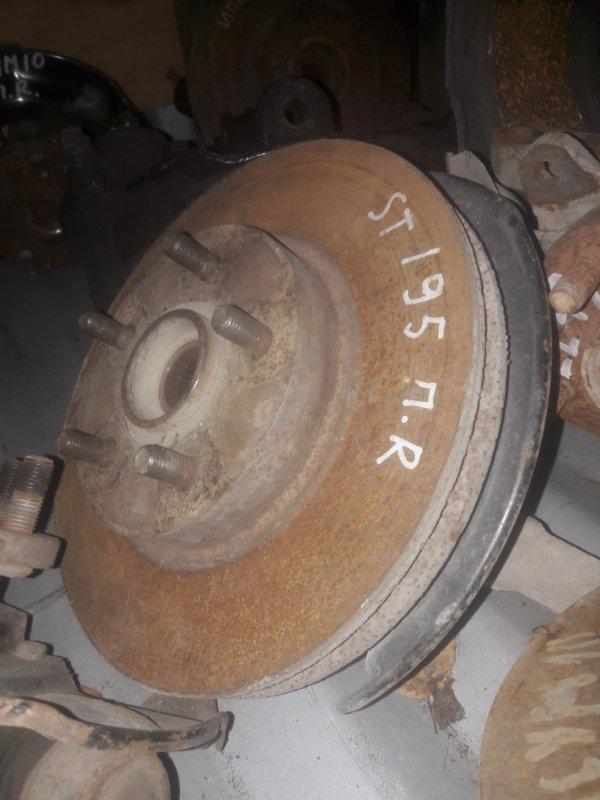 Поворотный кулак, ступица Toyota Caldina ST195, ST190, ST191, ST196 3SFE 1996 передний правый