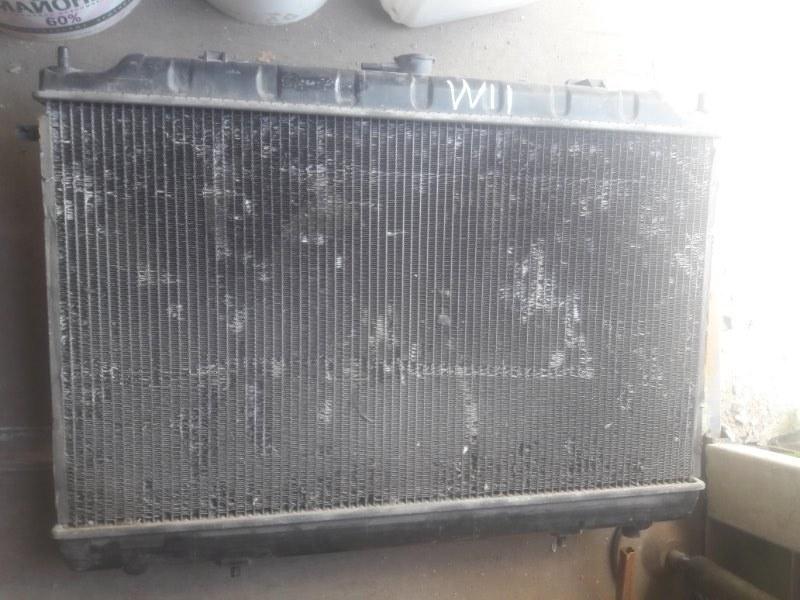 Радиатор двс охлаждения двигателя Nissan Expert W11 QG18DE 2003