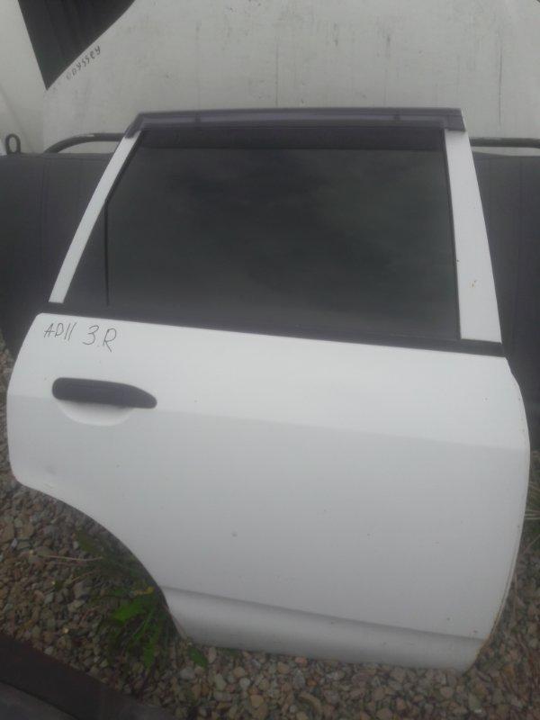 Дверь Nissan Ad Y11 QG15DE 2000