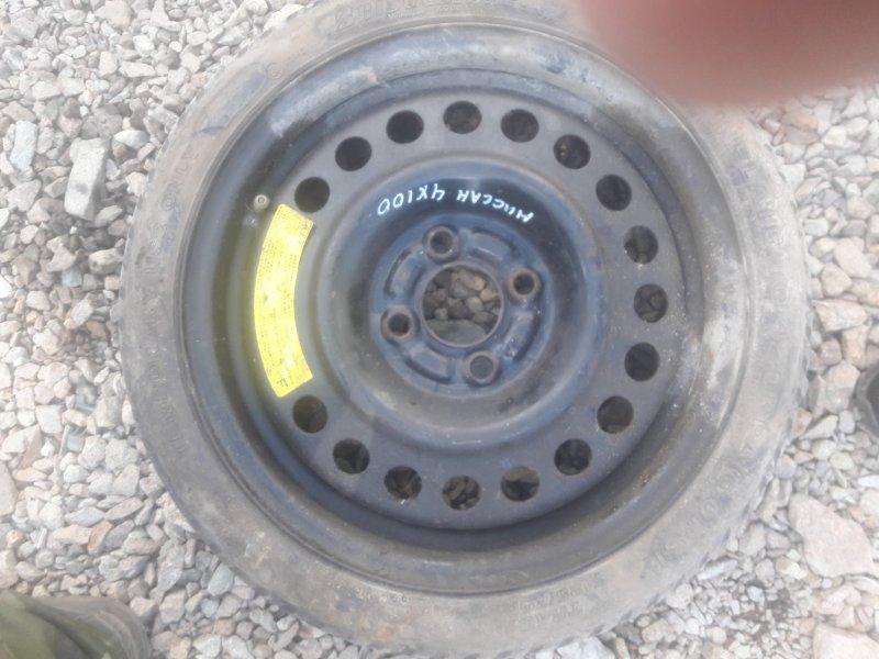Колесо запасное Nissan Tiida Latio SC11 HR15 2005
