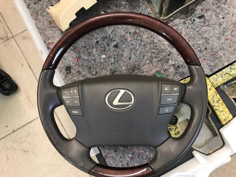 Airbag подушка безопасности на руль Lexus Lx570 200 3UR 2012