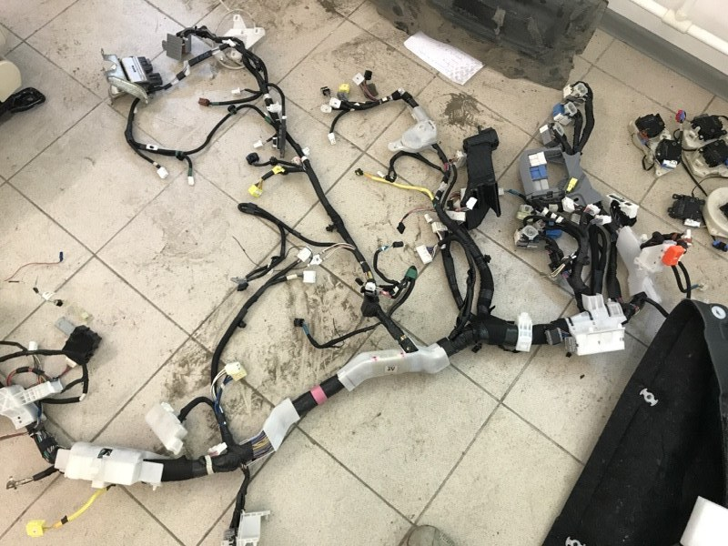 Проводка электрическая Lexus Lx570 200 3UR 2012