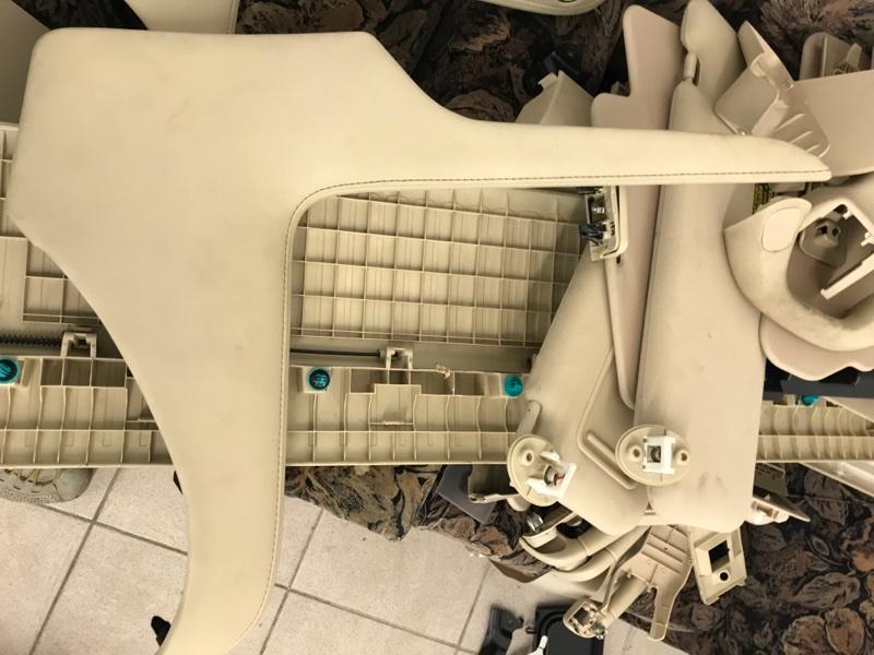 Козырек солнцезащитный Lexus Lx570 200 3UR 2012