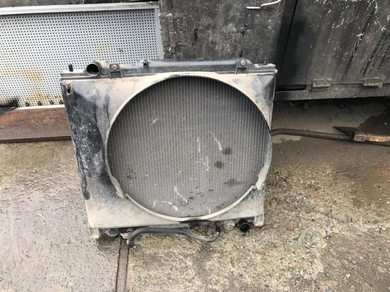 Радиатор двс охлаждения двигателя Mitsubishi Delica PD8W 4M40 2002