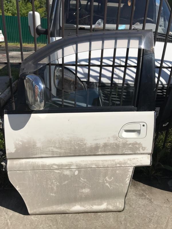 Ручка двери внешняя Mitsubishi Delica PE8W 4M40 2002 передняя левая